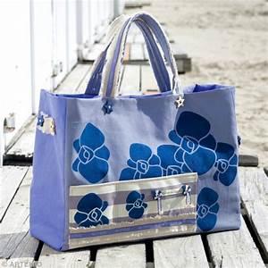 Faire Un Sac : beach bag faire un sac de plage ~ Nature-et-papiers.com Idées de Décoration