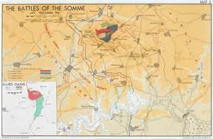 Where Was the Battle of the Somme Map