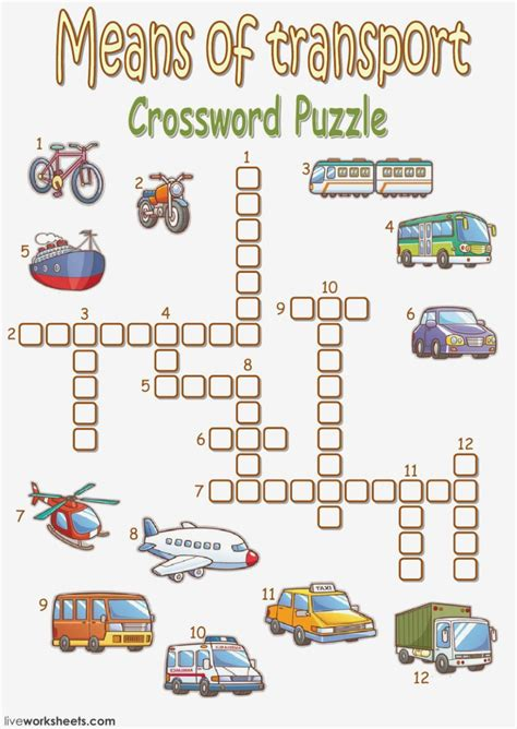 how to leave form of transport crossword form information