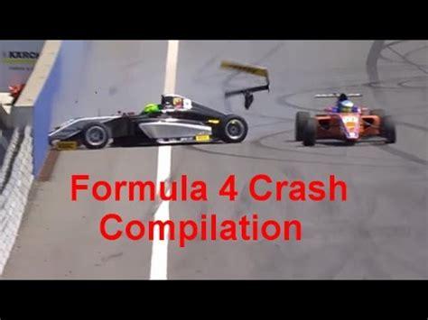 formula 4 crash formula 4 crash compilation youtube