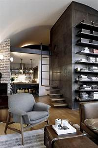 Top, 10, Charming, Apartments, Decorated, In, Industrial, Style