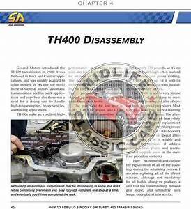 How To Rebuild  U0026 Modify Gm Turbo 400 Transmissions Tran