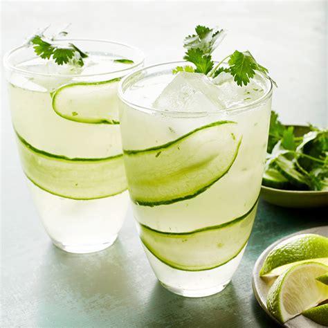 gin tonic mit gurke cucumber gin tonic rachael every day