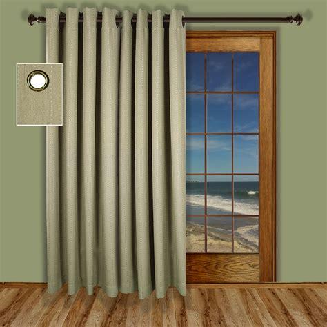 insulated grommet top patio door curtains 2017 2018