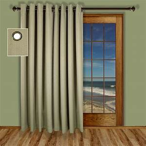 Patio door curtains thecurtainshopcom for Patio door curtain