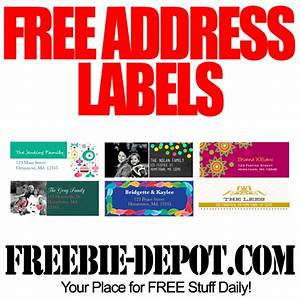 free address labels for the holidays freebie depot With free online mailing labels