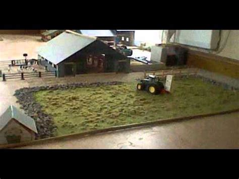 toy tractors making silage bales youtube
