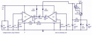 Voltage Converter Circuit - 6 To 12 Volts