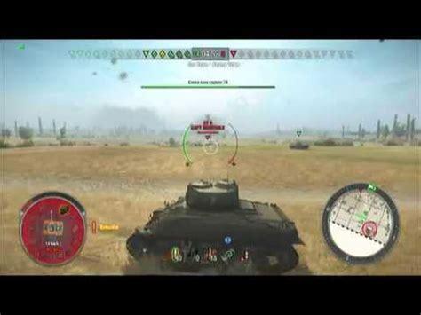 world of tanks xbox 360 edition m4 sherman tier 5 medium tank gameplay review