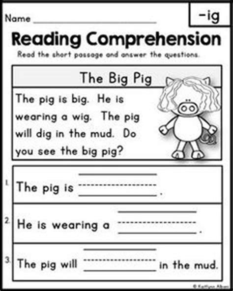 grade  reading worksheets images reading