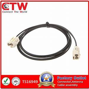 China Double Fakra Wiring Harness  Wire Harness  Cable