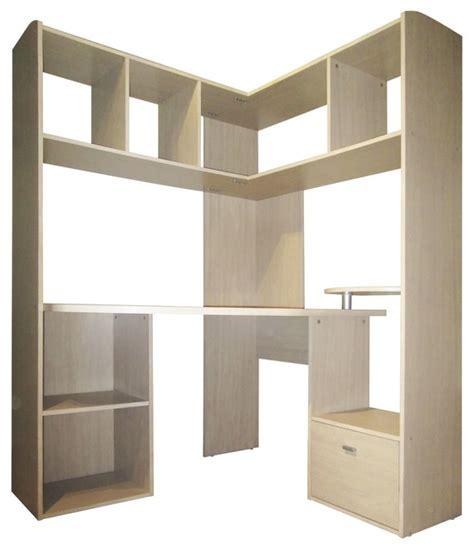 meuble bureau d angle easy grand bureau d 39 angle pour ordinateur contemporain