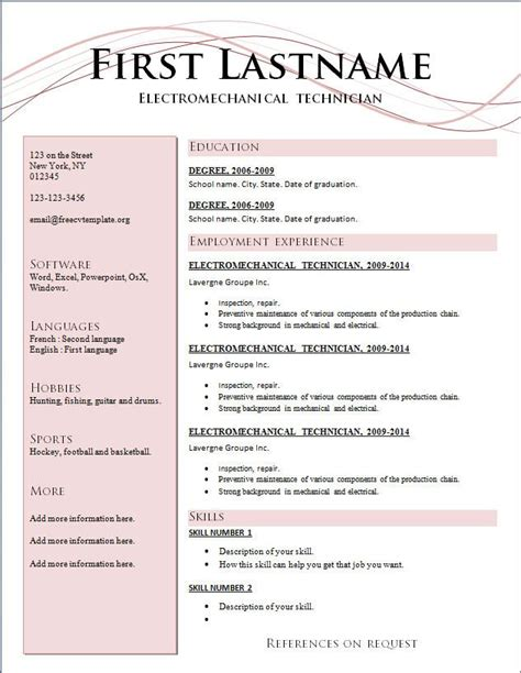 the resume format resume format 2017 for