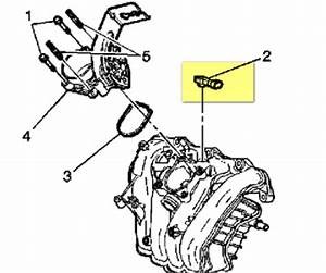 Location Of Map Senser For 2006 Saturn Ion 3 2 2