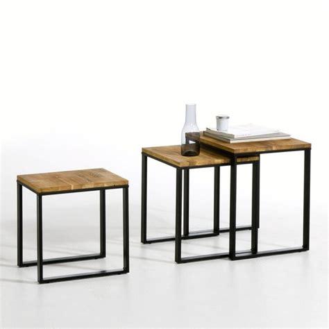 table basse gigogne lot de 3 hiba la redoute interieurs la redoute