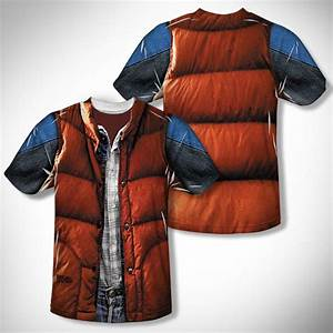 Back To The Future Marty McFly Vest Costume T Shirt