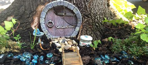 tree trunk fairy gardens buffalo rising