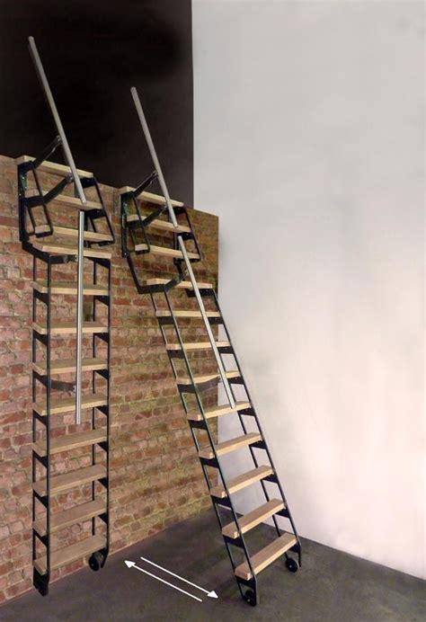 escalier escamotable pour mezzanine 17 meilleures id 233 es 224 propos de echelle mezzanine sur