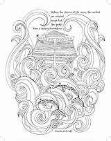 Noah Ark Coloring Majestic Flood Expressions Bible Noahs Printable Sunday Verse Crafts Christian Creation Beginning Christ Colouring Adult 39s Colorear sketch template
