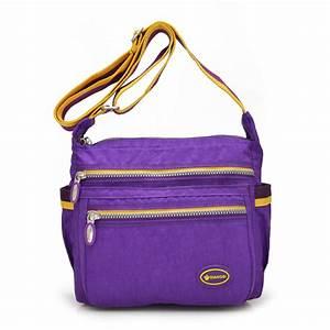 New Fashion Style Women Bag Casual Lightweight Women Shoulder Bag Brand Designer Nylon Women ...