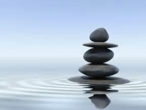 Images of Mindfulness Meditation and Rocks