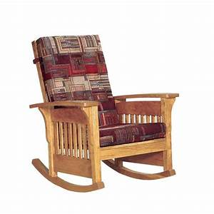 American Bow Arm Mission Slat Rocker from DutchCrafters Amish