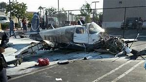 Accident Parking Sans Tiers Identifié : one killed three injured in small plane crash in san diego parking lot national news abc ~ Medecine-chirurgie-esthetiques.com Avis de Voitures