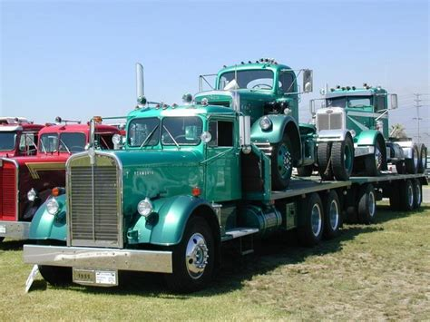 antique kenworth trucks 1955 vintage kenworth truck trucks pinterest