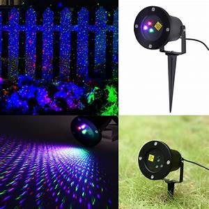 Outdoor Rgb Moving Laser Led Projector Light Christmas