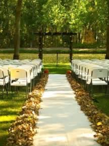 Fall Outdoor Wedding Decorations Ideas