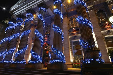 we hang christmas lights phoenix christmas light hanging service professional christmas