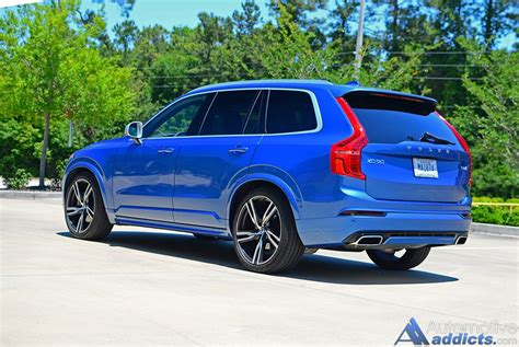 volvo xc90 r design 2016 volvo xc90 t6 awd r design review test drive