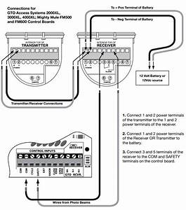 Wiring Diagram For Gate Opener