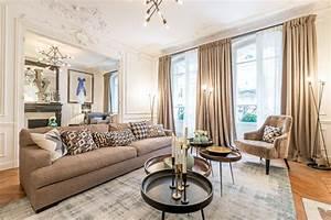 Salon Classique Chic : decoration d 39 un appartement rue poussin paris 4 ~ Dallasstarsshop.com Idées de Décoration