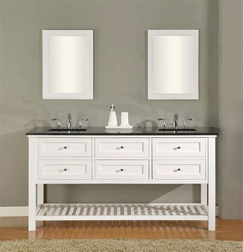 Claremont (double) 70inch Transitional Bathroom Vanity