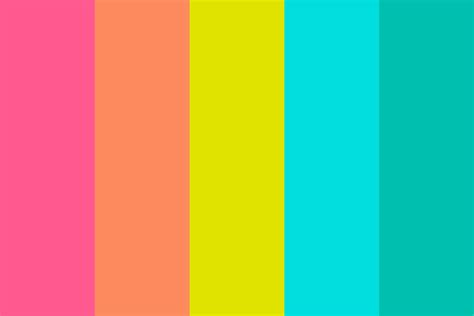 Bright Summer Color Palette