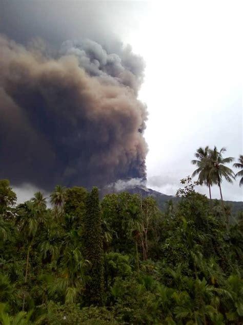 New MAJOR eruption of Manam volcano, Papua New Guinea ...
