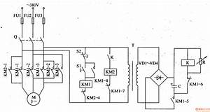 Motor Brake - Basic Circuit - Circuit Diagram