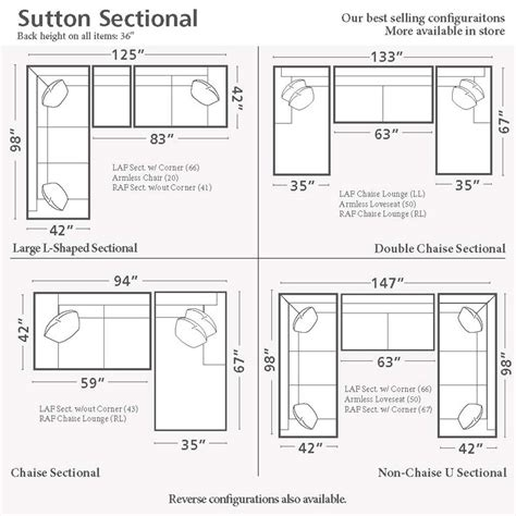 Sectional Sofa Sizes by Sutton U Shape Sectional Sofa Living Room Bassett