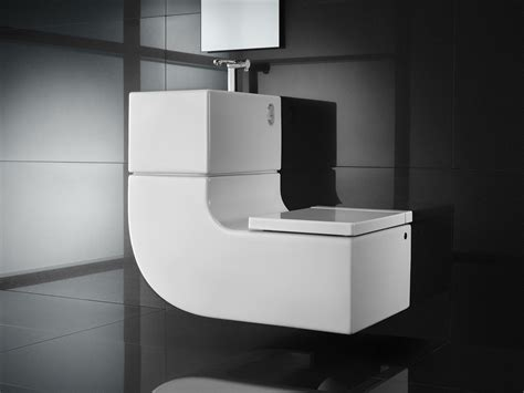 space saving wc and basin w w washbasin wc toilets from roca architonic