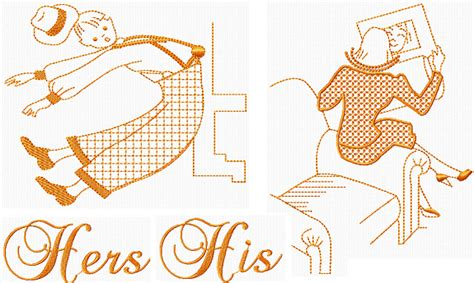 his and hers designs 1940 s his hers i