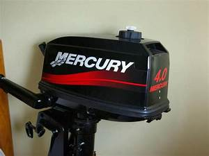 Motor Mercury De 4 Hp Em Segunda M U00e3o 67666