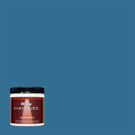 behr marquee 8 oz t18 soul search matte interior exterior paint and primer in one sle
