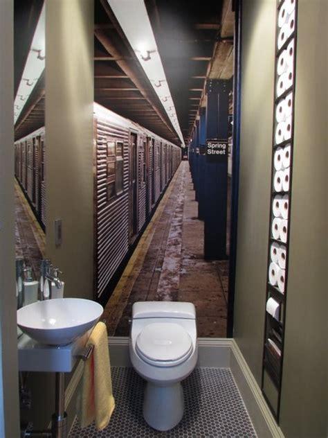 portal to new york guest bathroom