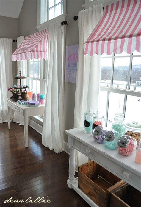 Homemade awnings | Bakery decor, Kitchen window treatments