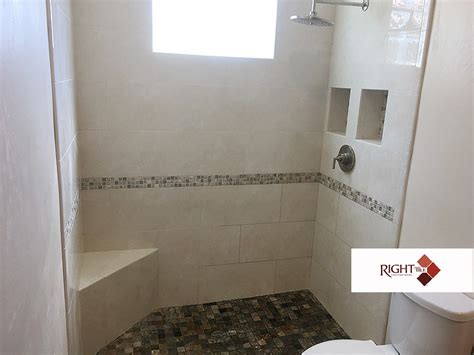 tile bathrooms az right tile llc