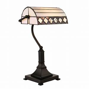 70908 fargo tiffany bankers table lamp With tiffany fargo floor lamp