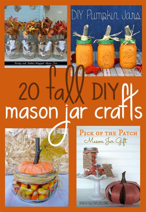 diy fall mason jar crafts bonbon break