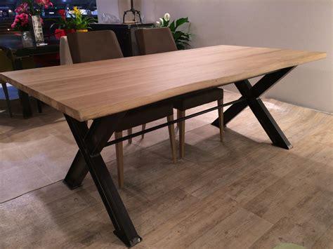 meuble et canape com table métal pied ipn fabrication française villa mélodie