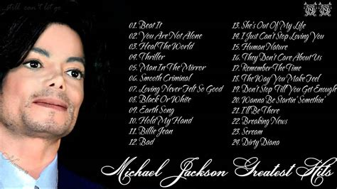 Michael Jackson Best Song by Michael Jackson Greatest Hits Album Top 25